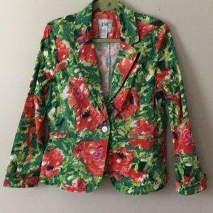 Live a Little floral blazer
